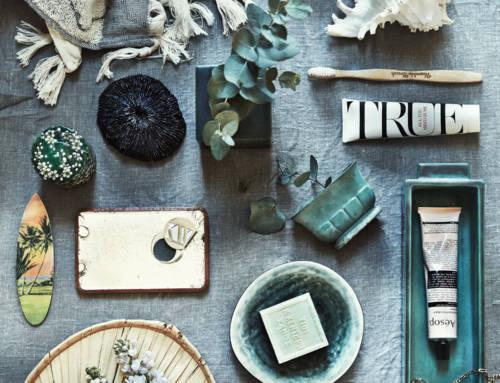 Elementos esenciales de baño estilo Anna Gillar