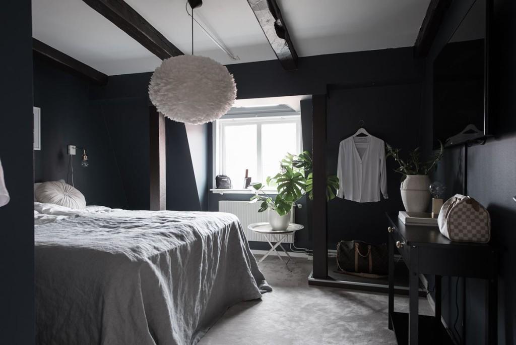 Dormitorio tico oscuro grupo veta for Dormitorio oscuro
