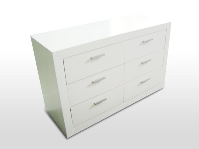 Comoda quadratto 6 cajones f brica de muebles grupo veta - Comoda 6 cajones ...