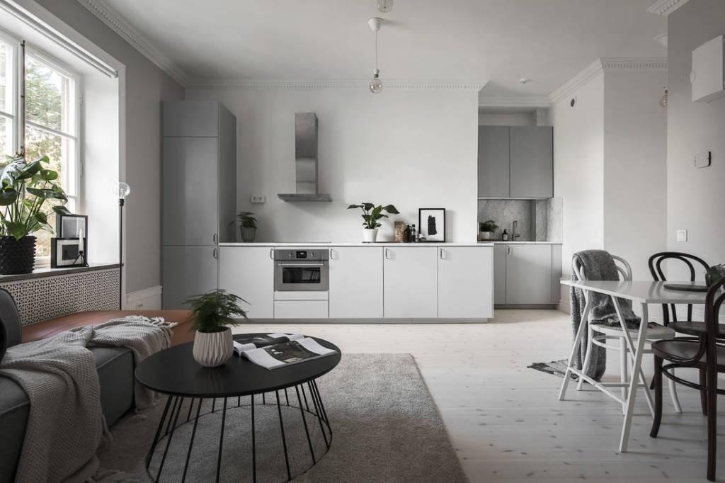 Cocina, sala de estar y dormitorio en uno: a través del blog Coco Lapine Design