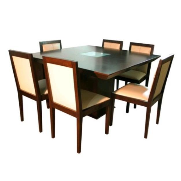 mesa cuadrada reggio con vidrio f brica de muebles